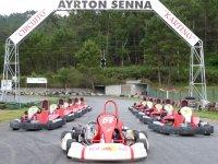 Sesión de Karting en A Coruña 21 minutos
