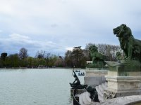 Pond at the Retiro park