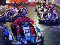 Manga de karting en Coruña circuito indoor adultos