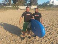 listos para un dia de paddle surf