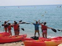 今天皮划艇比赛
