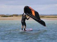 开始风筝冲浪课程