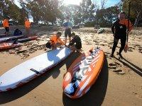 岸上的桨板