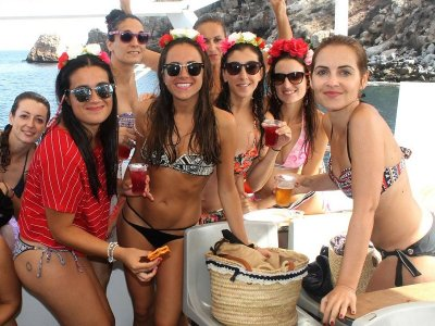 Party Boat in Mojácar w. Beer Open Bar