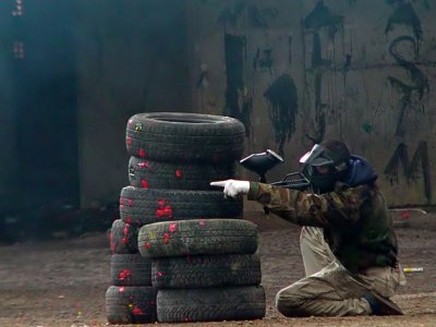 Gioco Paintball 200 palline a Burgos