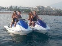 Ruta en moto de agua Estepona a puerto Sotogrande