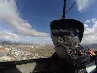 Mandos del helicoptero