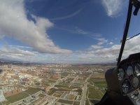 Vistas desde el helicoptero