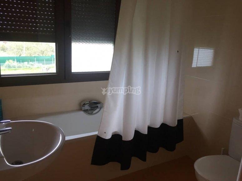 浴室房间5座