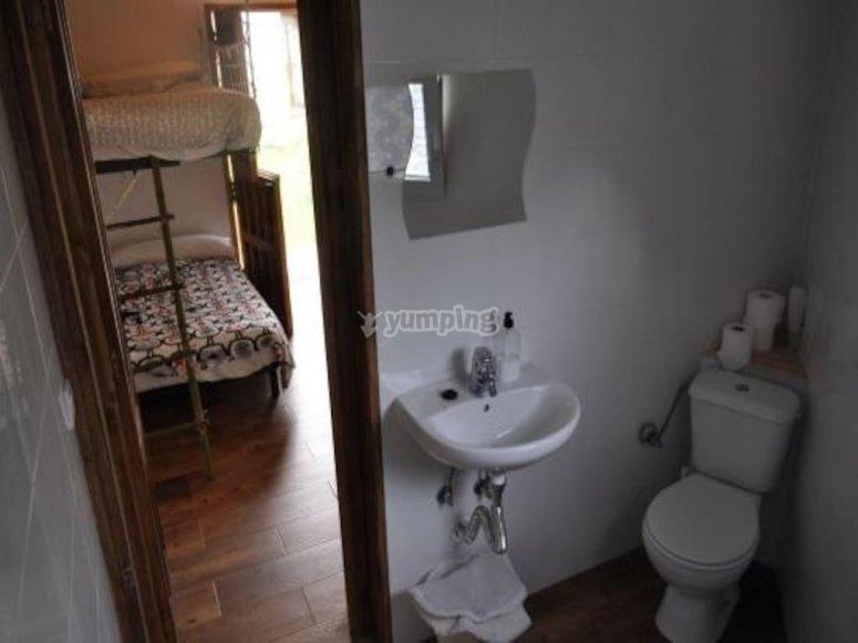 stanza da bagno duplex