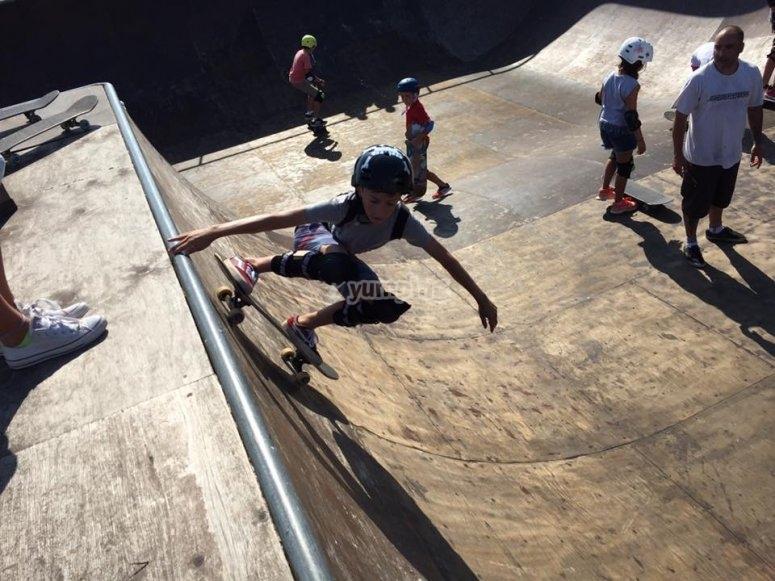 Practica skate