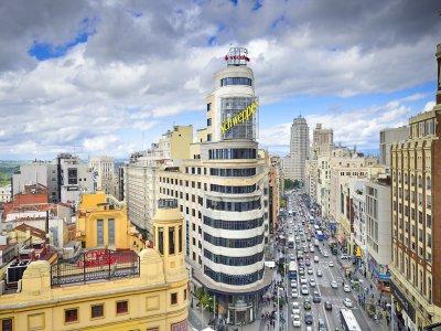 Visita guiada Gran Vía de Madrid coles institutos