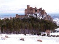 Loarre castle winter