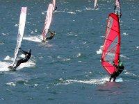 Jornadas de windsurf en el delta del Ebro