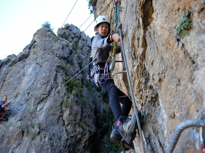 Via ferrata Lleida
