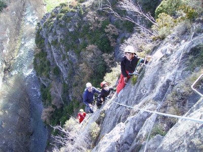 Medium-High Level Via Ferrata, Tossal de Miravet