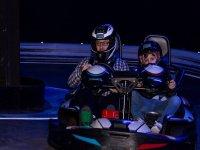 Tanda en kart biplaza en Coruña para adulto y niño