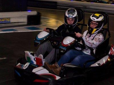 Pilotar kart biplaza en La Coruña para 2 adultos