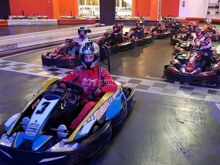 Karting race track