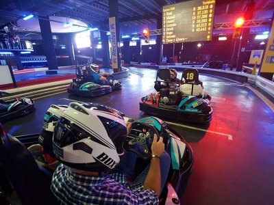 Mini GP de Karting indoor en Marineda a 2 tandas