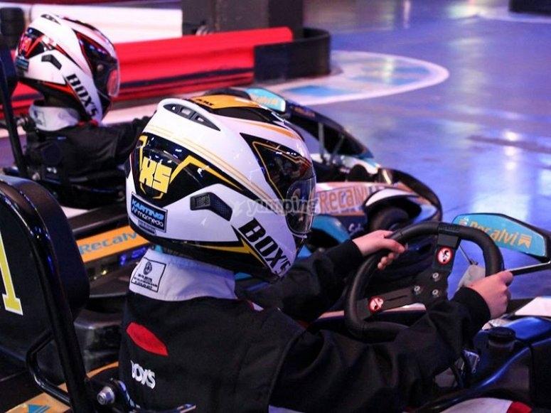 Karting race for kids