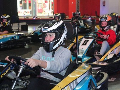 Children's Birthday w. Karting in Coruña, 2 Rounds