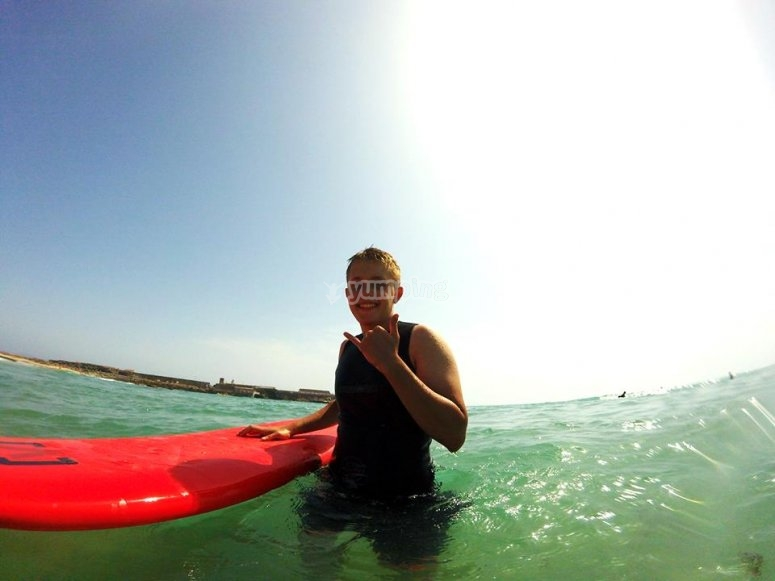 Surfing Ok