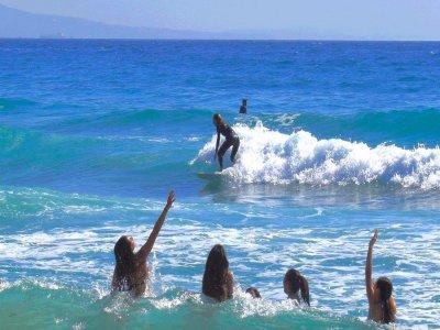 在塔里法集团冲浪课2小时