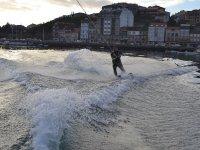 Sesión de esquí acuático en Moaña 25 minutos