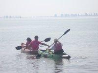 Location de kayak individuel 1 heure Mar Menor