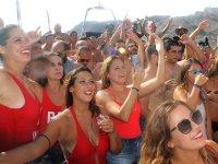Boat party en Mojácar barra libre sangría cerveza