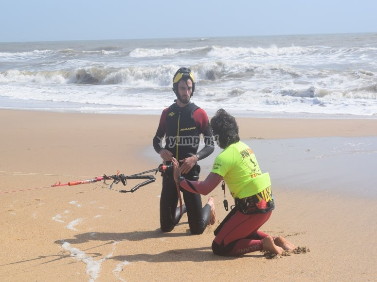 curso de kitesurf Huelva
