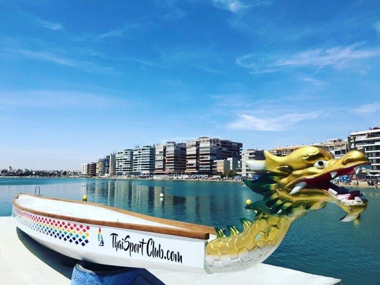 Piragua Dragon Boat