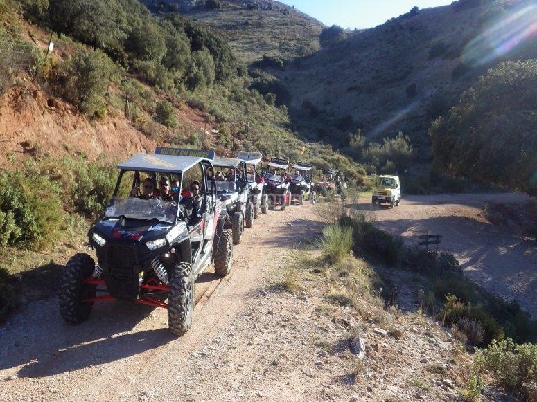 Ruta en buggy en Malaga