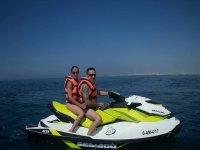 Recorre Almeria con moto de agua