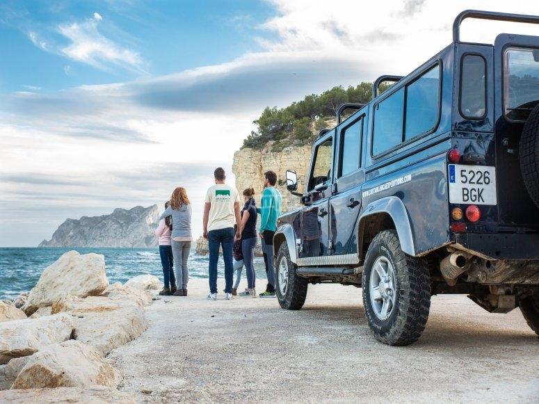 Ruta Land Rover