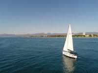 多拉达海岸上的帆船