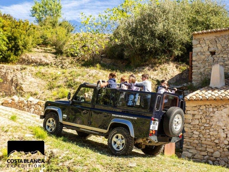 Percorso Land Rover Alicante