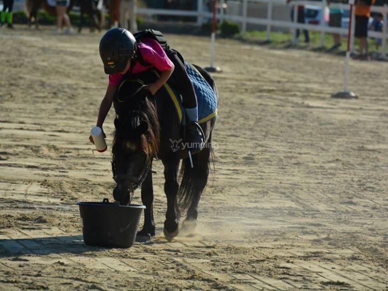 Juegos a caballo