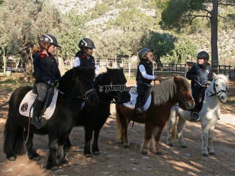 En los ponis