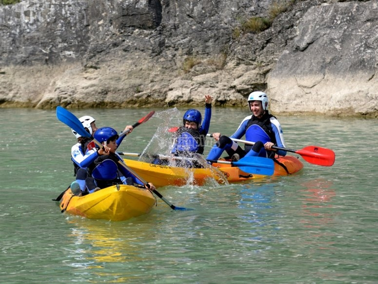Canoa Pirineo huesca