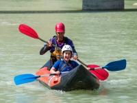 Descenso canoas familia Huesca