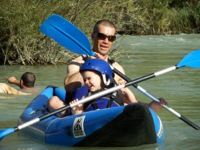 Descenso en canoa río Gállego 3 horas ADULTO