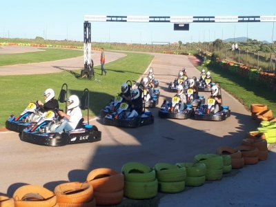 10m Karting Race in Cáceres, SJ1 Junior