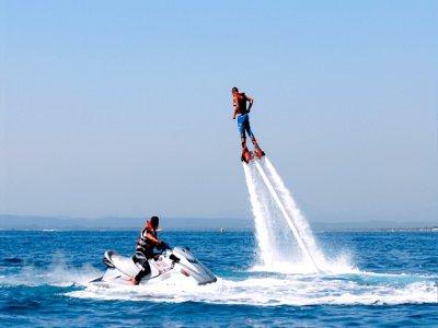 Flyboard sulla Costa Brava con doppio jet ski