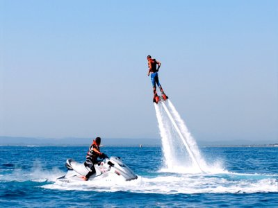 Pack coppie jet ski e flyboard a Roses