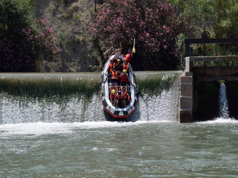 Rafting rio Segura