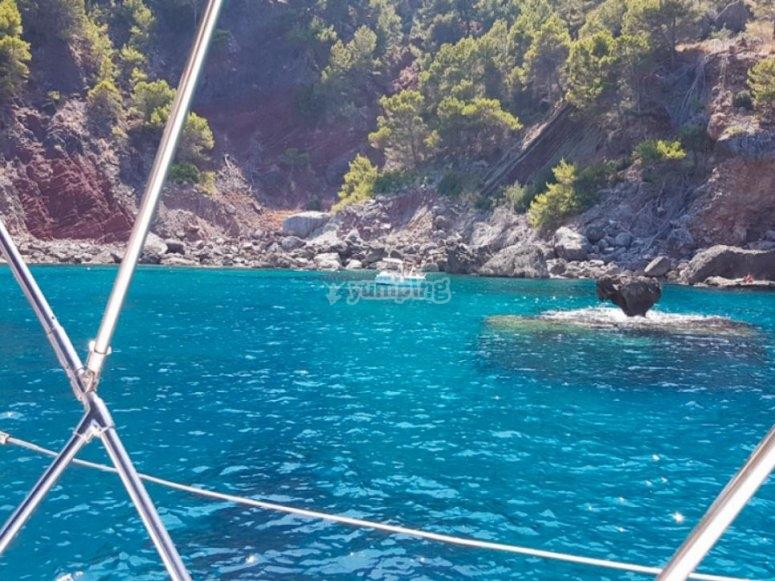 Charter en calas de Mallorca