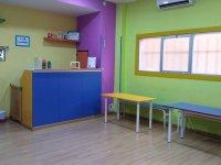 recibidor y cafeteria