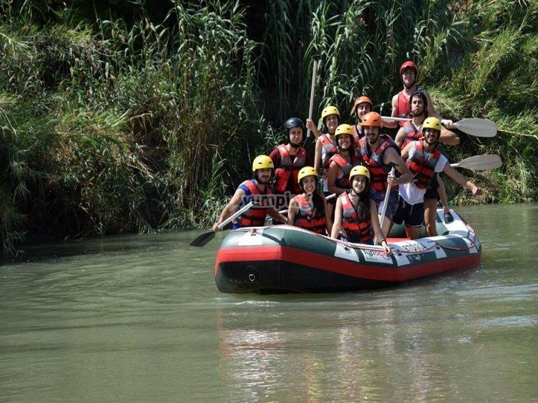 Rafting en el Valle de Ricote